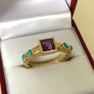 DAVID YURMAN 18K Yellow Gold Renaissance Ring
